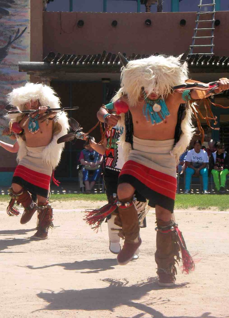 Image detail for -Indian Pueblo Cultural Center Buffalo Dancers.