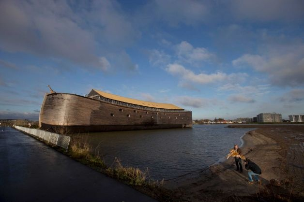 Johan Huibers - full scale replica of Noah's Ark in Dordrecht, Netherlands,