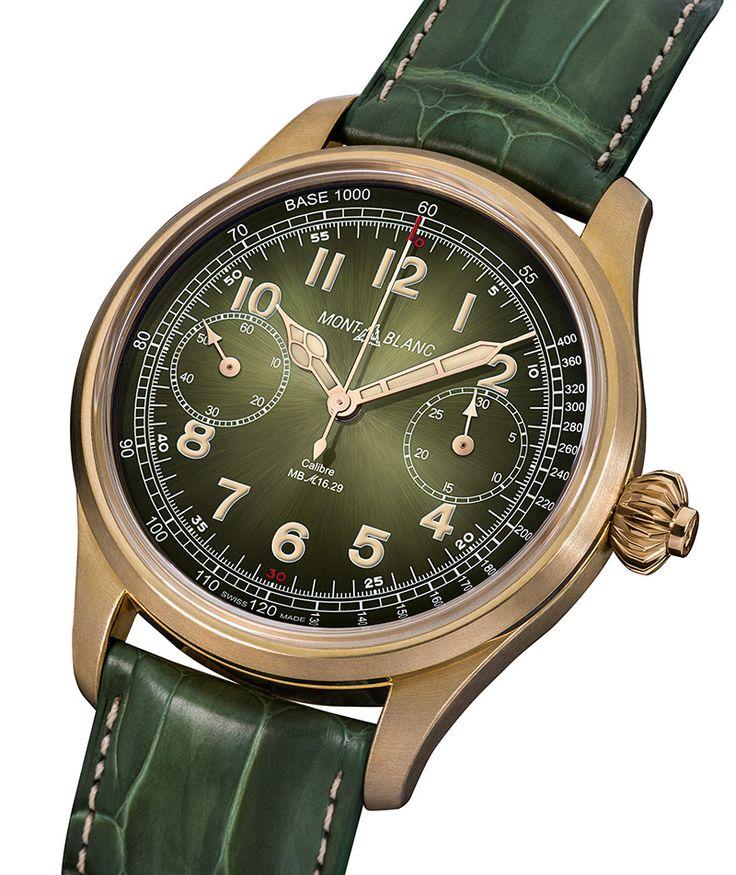 Часы Montblanc для аукциона Only Watch 2017