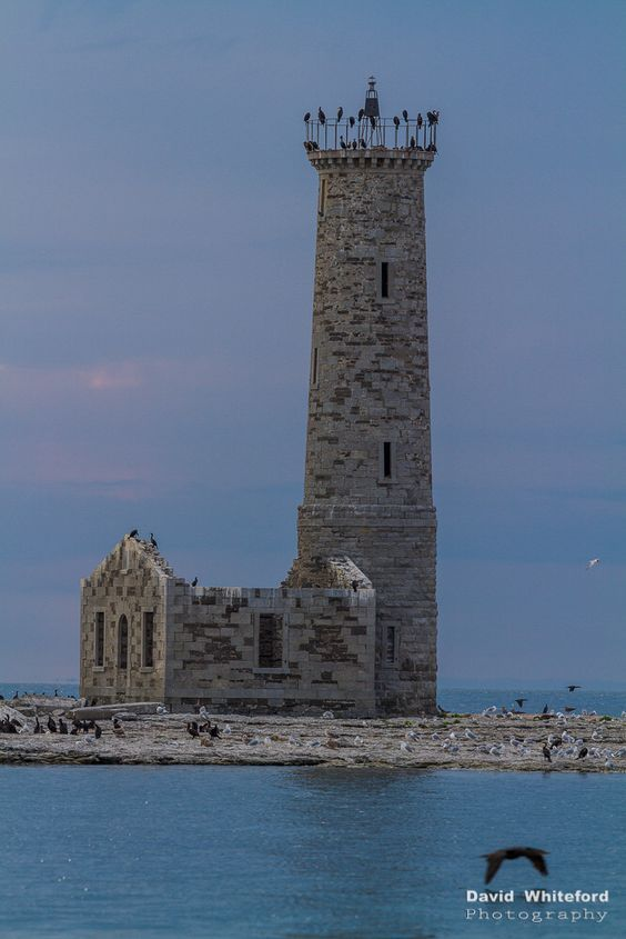 Gull Island #Lighthouse, Mohawk Island, Lake Erie, #Michigan http://500px.com/photo/21304169