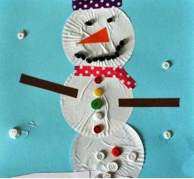 20 best Manualidades navideñas para niños images on Pinterest