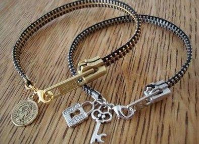 Fashion Forward Zipper Bracelet