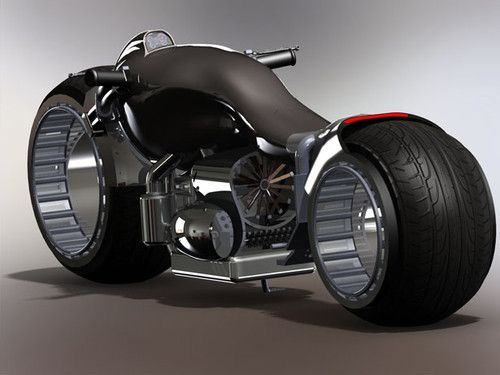 Chris Stiles has created a powererful hybrid of a race bike and a cruiser, KruzoR Motorcycle.