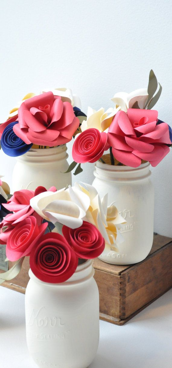 Wedding Table Centerpieces  This listing is for a beautiful wedding table centerpiece. Made entirely from paper, these centerpieces are perfect for