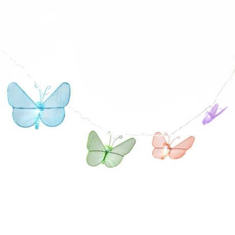 Metal Butterfly LED Lights