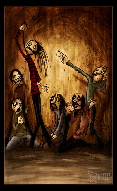 Psycho Drama by dholl.deviantart.com on @deviantART