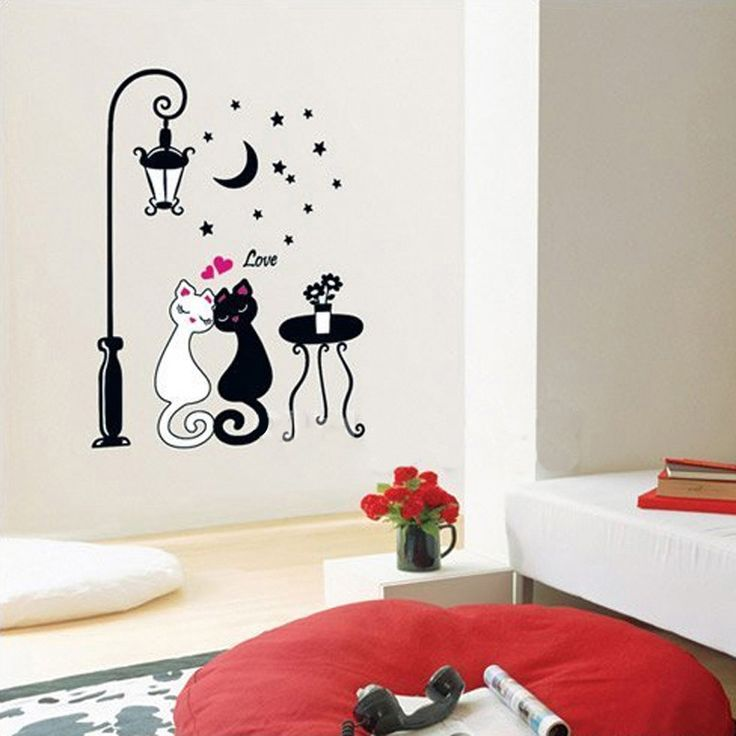 Красивые рисунки на стену дома марка