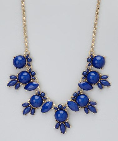 """Take a look at this Blue Bubble Necklace by La Radiant on #zulily today!  Find under """"Turkish Apparel & Accessories"""" $9.99 http://www.zulily.com/invite/StyleDecor"""