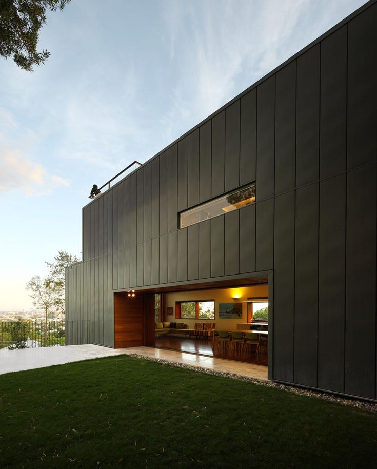 64 best images about standing seam metal cladding on pinterest for Architecture zinc