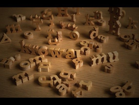 wooden letters small