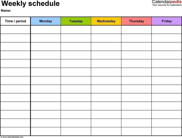 Most Up To Date Pics Calendar Printables Hourly Ideas Weekly Calendar Template Daily Schedule Template Timetable Template