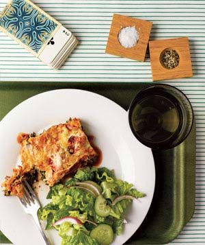 Slow-Cooker Spinach and Ricotta Lasagna