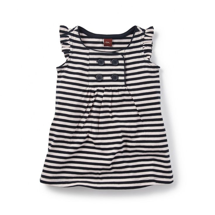 Harbor Stripe Sailor Dress for Baby Girls | Tea Collection ...