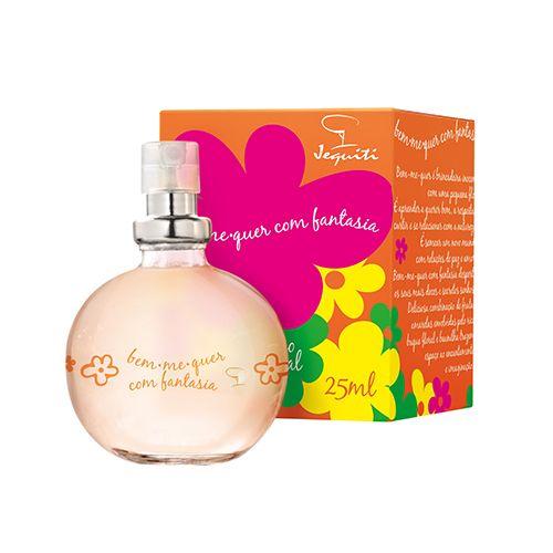 Colônia Desodorante Feminina Bem-me-Quer com Fantasia, 25ml - Nossos produtos…