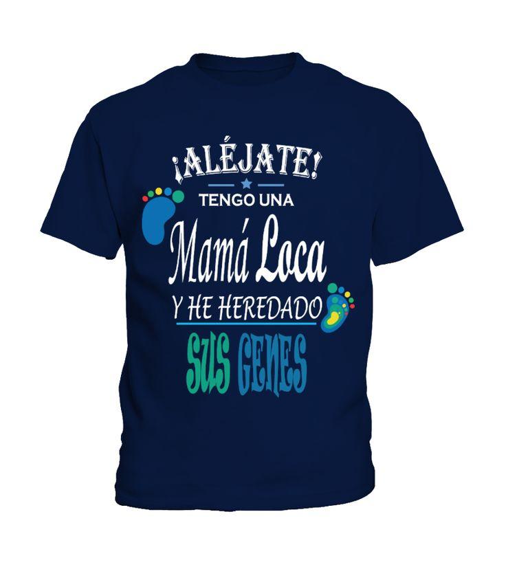 Mamá Loca!!  #gift #idea #shirt #image #papa # grandpa #mama #mom #fatherday #motherday #birthday #christmas #cool #coffeemugs