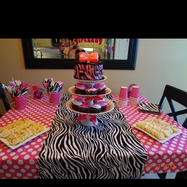 127 best Aysies Decorations images on Pinterest Minnie birthday