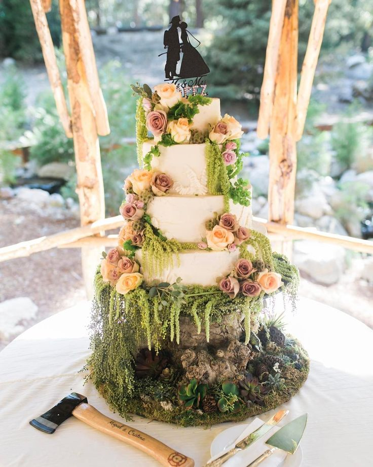 17 Best ideas about Enchanted Forest Cake on Pinterest ...