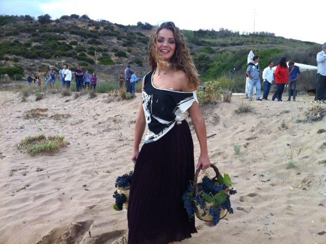 #GiusyBuscemi sulla spiaggia