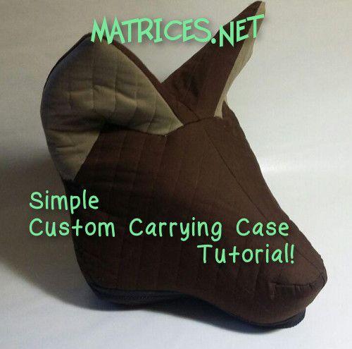 how to make a fursuit head foam