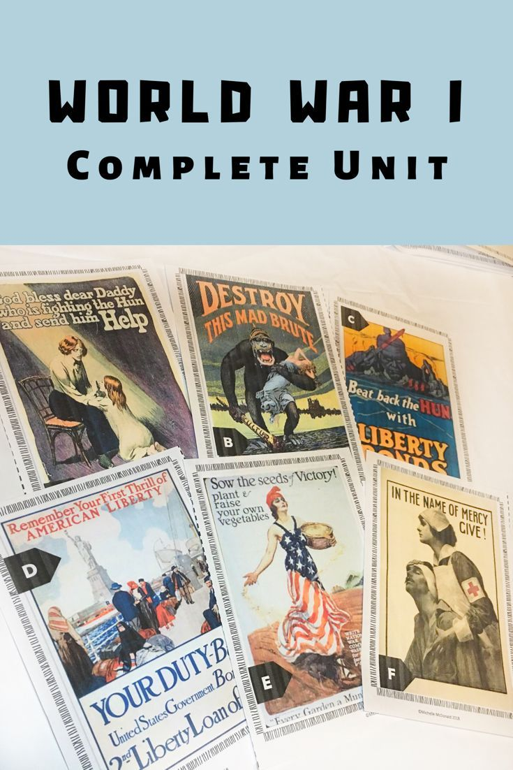 World War I Unit: PowerPoint, Guided Notes, Stations