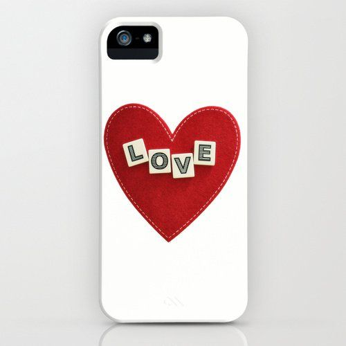 Pin for Later: Heart Cases You'll Want to Show Off Even After Valentine's Day  Heart love case ($35) for iPhone models and Samsung Galaxy S
