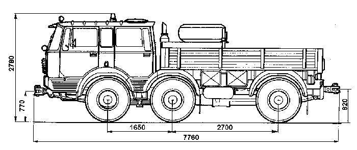 Tatra 813 6x6