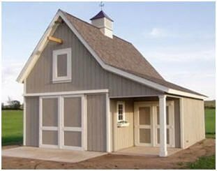 9 best images about sheds that can be turned into a man for Hobby barn plans