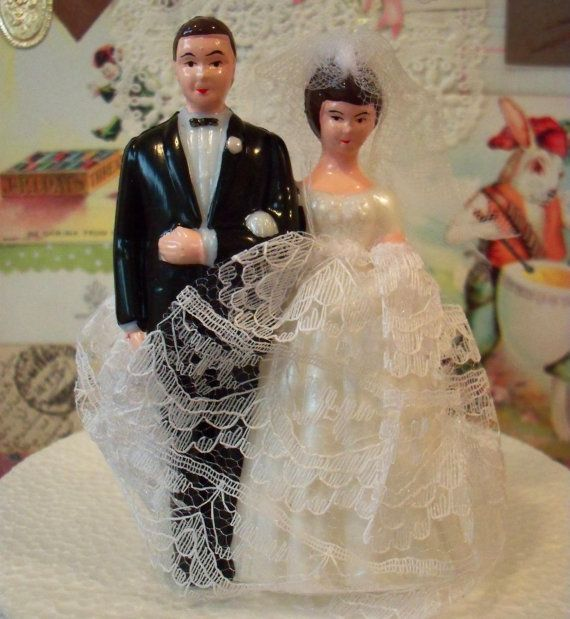 Love is Sweet / Sale / Vintage / Wedding Cake Topper / Bride and Groom / DIY / Bridal Shower Cake Decoration