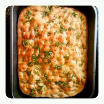 Rosemary Focaccia - Italian bread