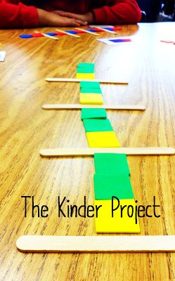Pattern trains!!! The Kinder Project ... Use for math during transportation week!