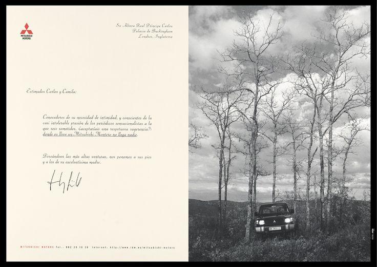 """Mitsubishi Montero """"Cartas"""" 1/4"""