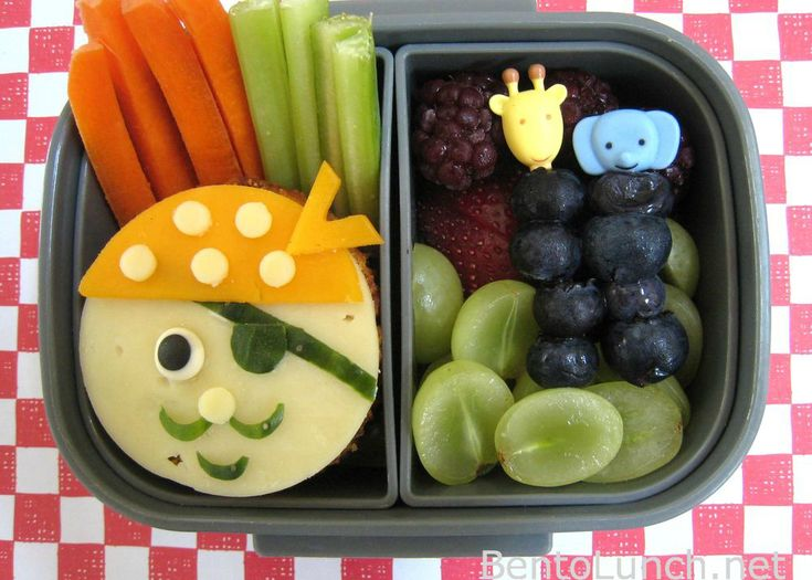 Pirate Bento Box for Kids