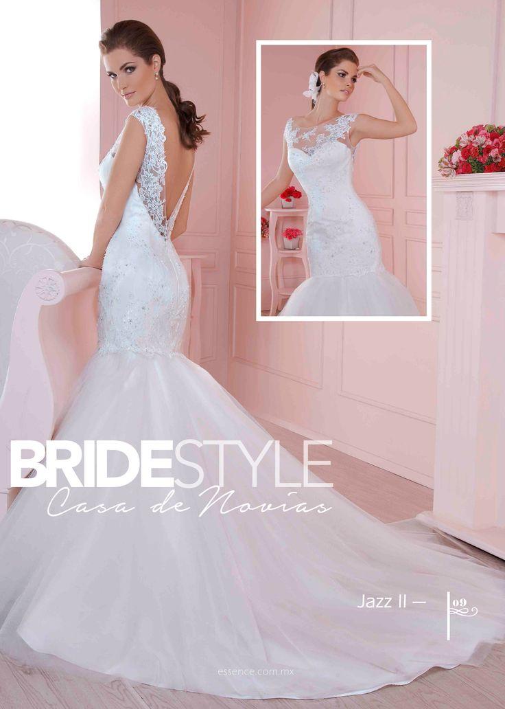 Mejores 11 imágenes de Vestidos de Novias 2015 en Pinterest | Novias ...