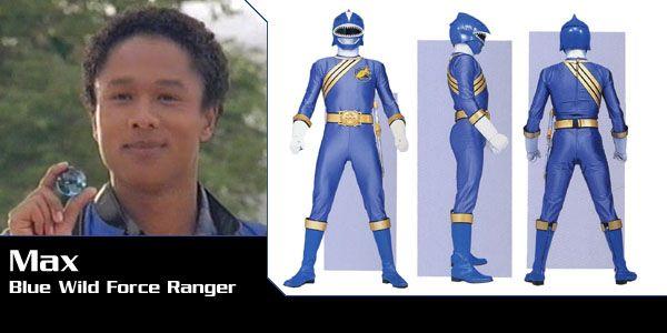 Max Cooper (Blue Shark Wild Force Ranger) - Power Rangers Wild Force | Power Rangers Central (Power Rangers Central, 03/16)