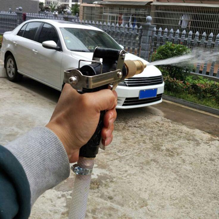 Laiton Tuyau Haute pression pistolet à eau pour le lavage de voiture rondelle portabe machine à laver de cuivre pistolet à eau pour la voiture jardin arrosage