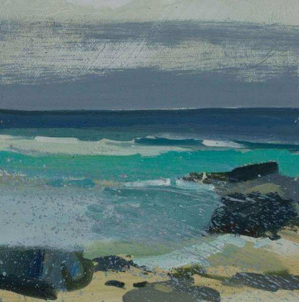 Rocks Island End, Porthmeor | Lucie Bray