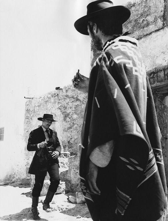 Lee Van Cleef / Clint Eastwood: Per Qualche Dollaro in più - For a Few Dollars More, Sergio Leone, 1965