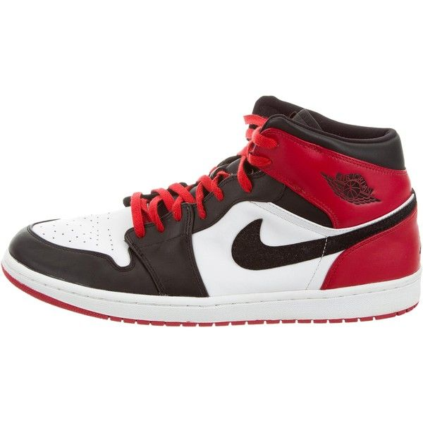 separation shoes 733b7 5bc14 Pre-owned Nike Air Jordan 1 Retro Sneakers ( 175) ❤ liked on Polyvore