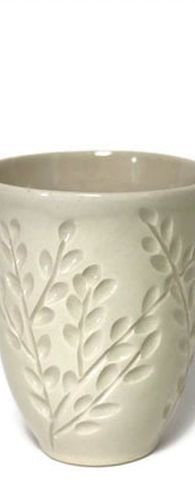 Branches Wine Cup In Ivory #PotteryClasses