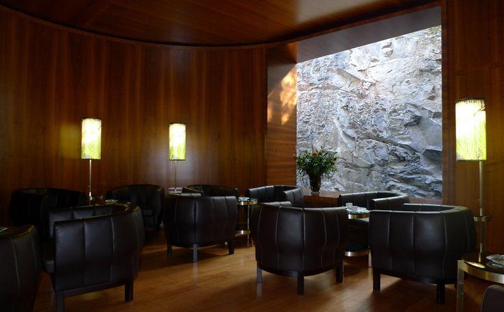 Frédéric Dedelley - Fumoir Hotel Waldhaus - Miller  Maranta