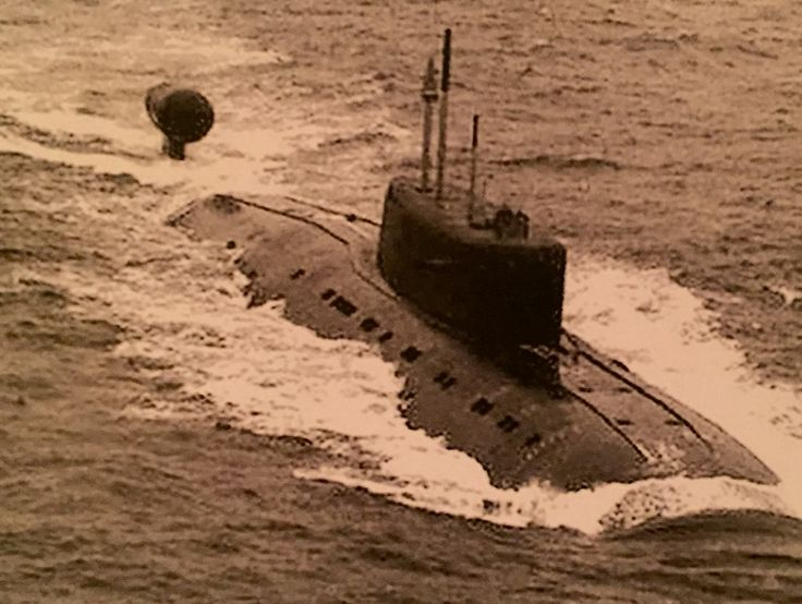 The Sierra-class, which entered service in 1972, was described as the apex of Soviet attack-submarine design.