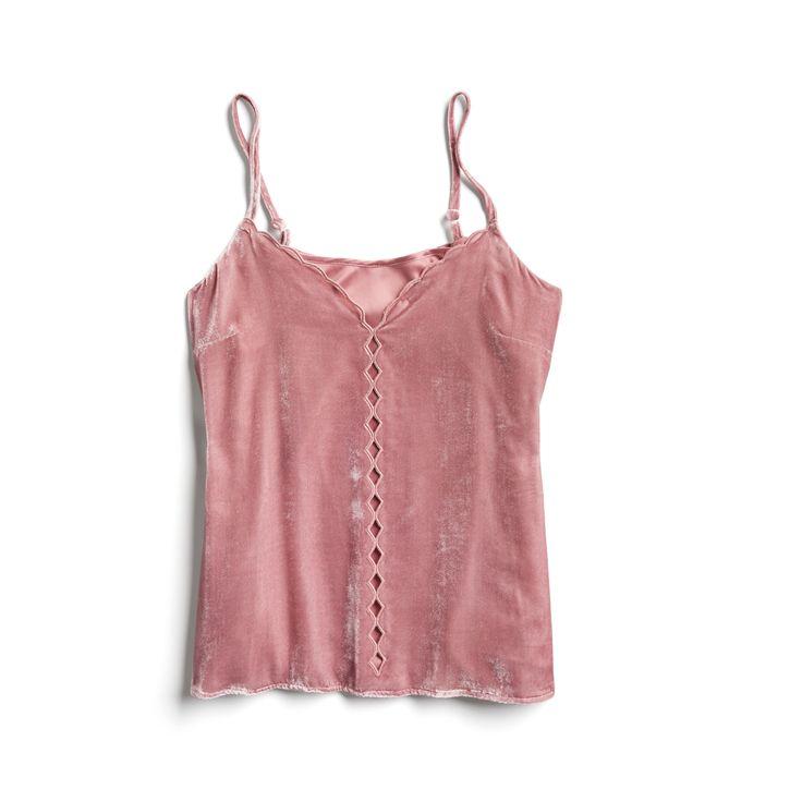 Stitch Fix Fall Stylist Picks: Cut-out velvet cami