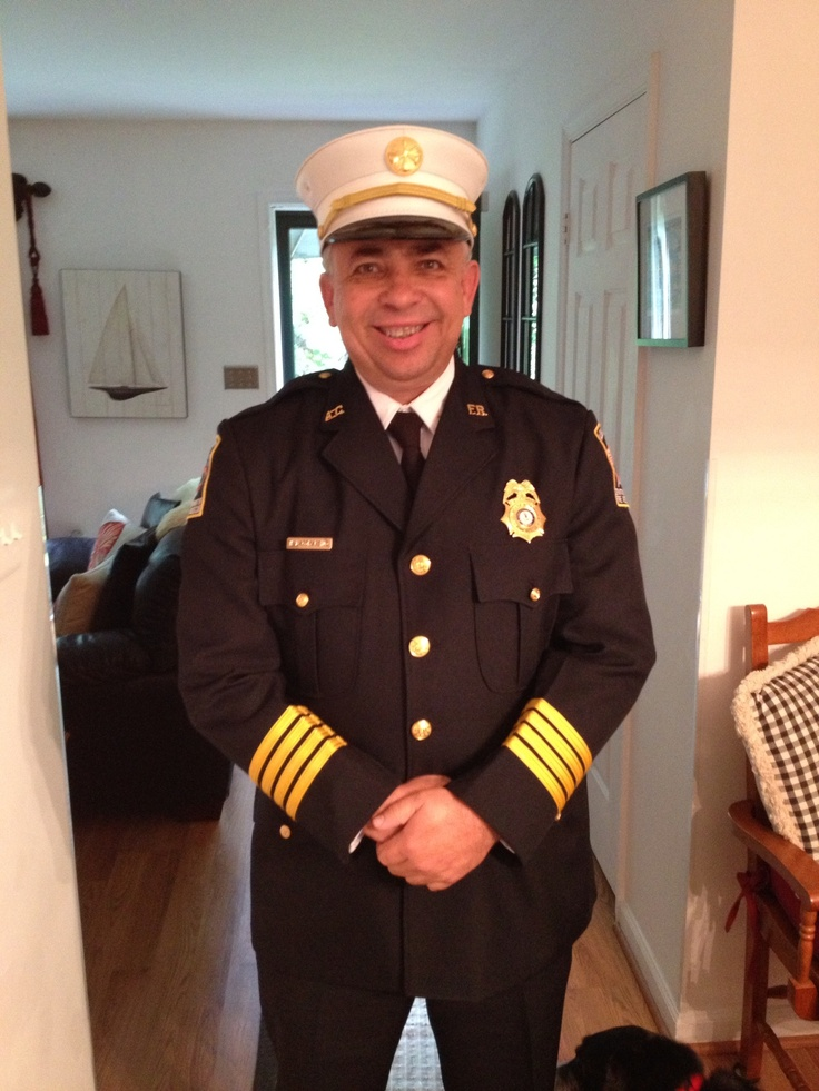 Handsome seasoned fire marshal got to love a guy in