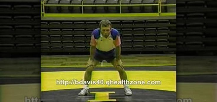 This is a basic wrestling drill from Barry Davis Wrestling that helps teach sprawling. It is also good for basic conditioning. Wrestling video demonstrations showing collegiate level training strategies. Get an inside look into the moves that will get you to win wrestling matches and takedown every opponent on the mat. This is a great move for any wrestler to master.