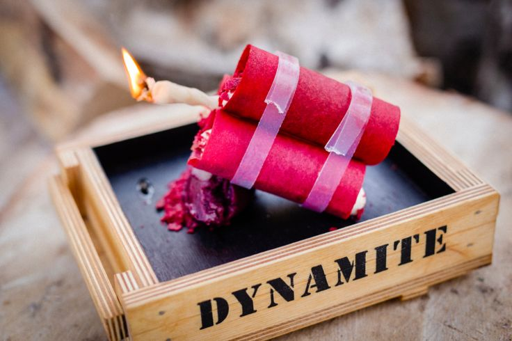 The sweetest dynamite you've ever tried