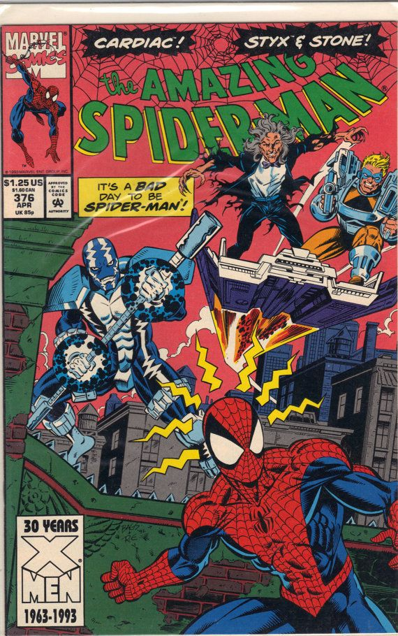 Spider-Man vs Cardiac ... : The Amazing Spider-Man #376 °°