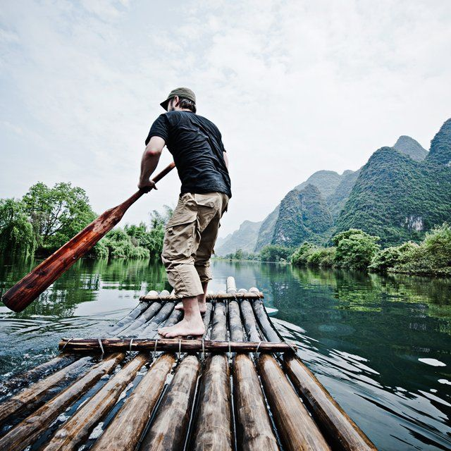 Yangshuo Lijiang river in Guangxi province, China