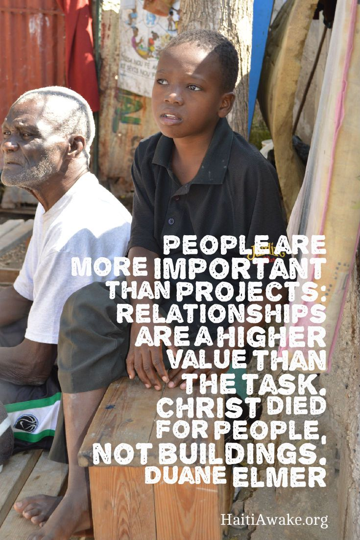 People are important to God
