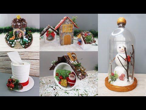 Youtube Christmas Decorations 2020 6 Manualidades Navideñas 2020   6 Adornos Navideños 2020