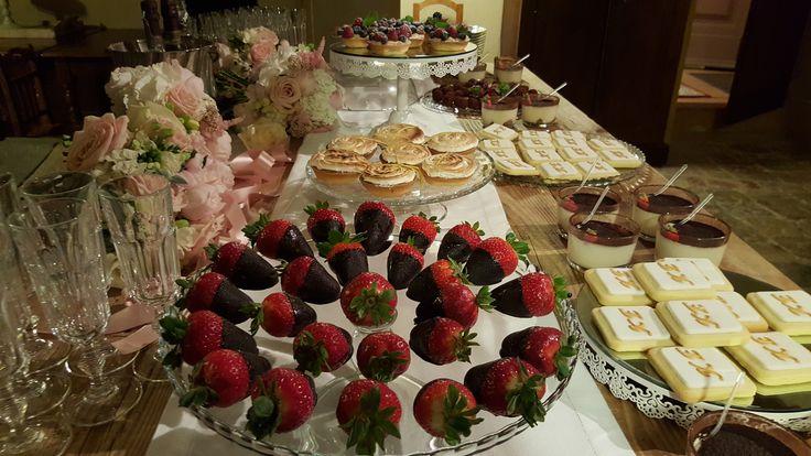 Strawberry deep in chocolate SWEET BUFFET